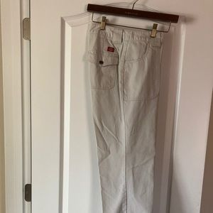 Dickies women's stone colored pants. Size 6